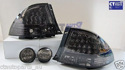 99 05 lexus toyota altezza is200 is300 smoked led tail lights led Aftermarket Tail Lights 99 05 lexus toyota altezza is200 is300 smoked led tail lights led trunk light