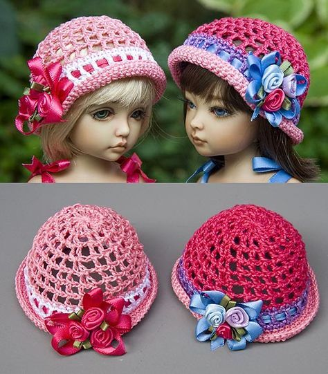 Picture ~ **Free Crochet Patterns ~ There are photos of many colour ...
