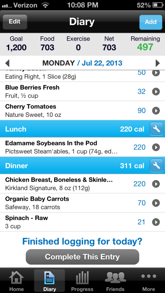 The Myfitness Pal App! (With images) Health and fitness