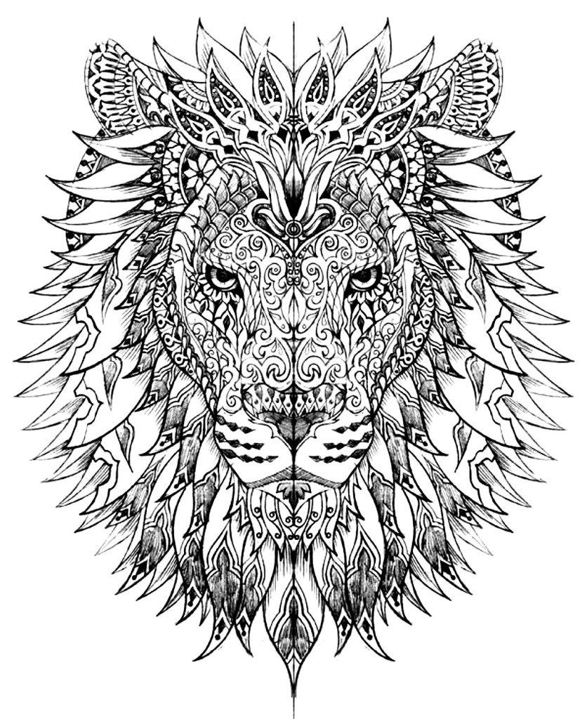 Free Coloring Pages Of Plicated Adult Coloring Pages For Adults To