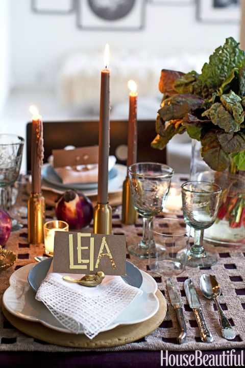 Creative Ways To Decorate Your Table For Your Next Big Dinner Table Setting Decor Fall Table Decor Table Decorations