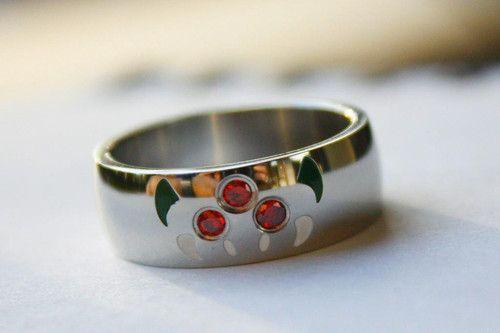 Metroid Ring By You Jelly 30 Unusual Wedding Rings Geeky Engagement Rings Wedding Rings