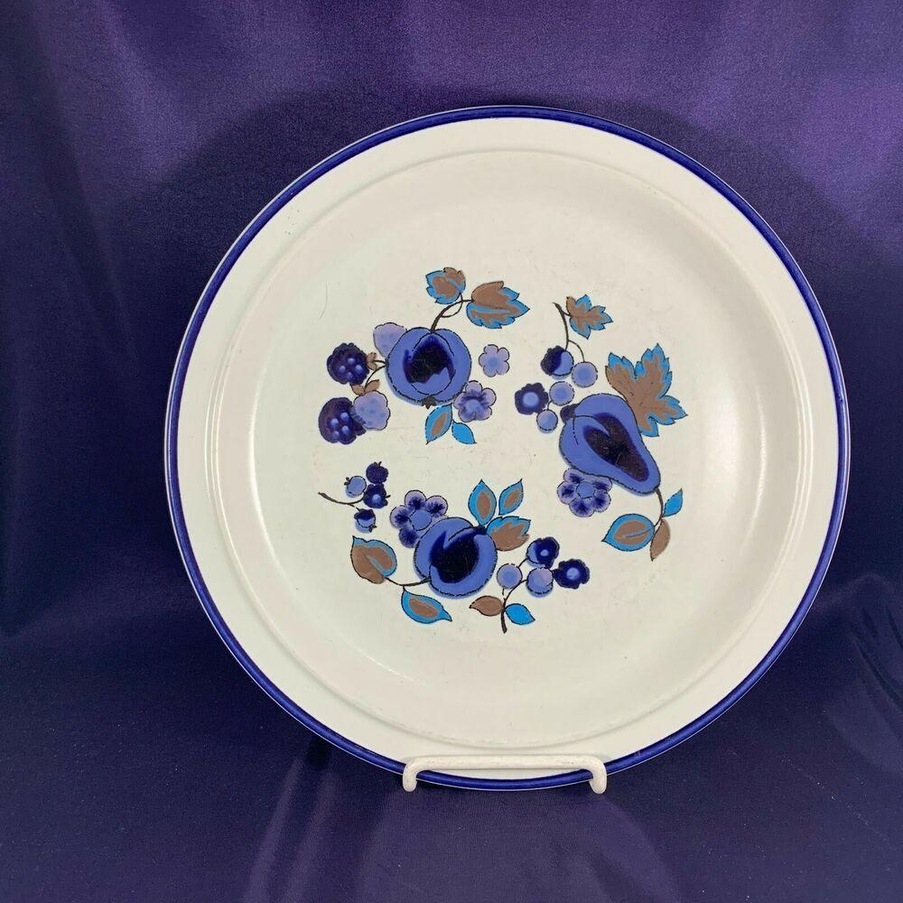 Royal Doulton Festival Lambethware Blue Dinner Plate 10 1 4 Royaldoulton