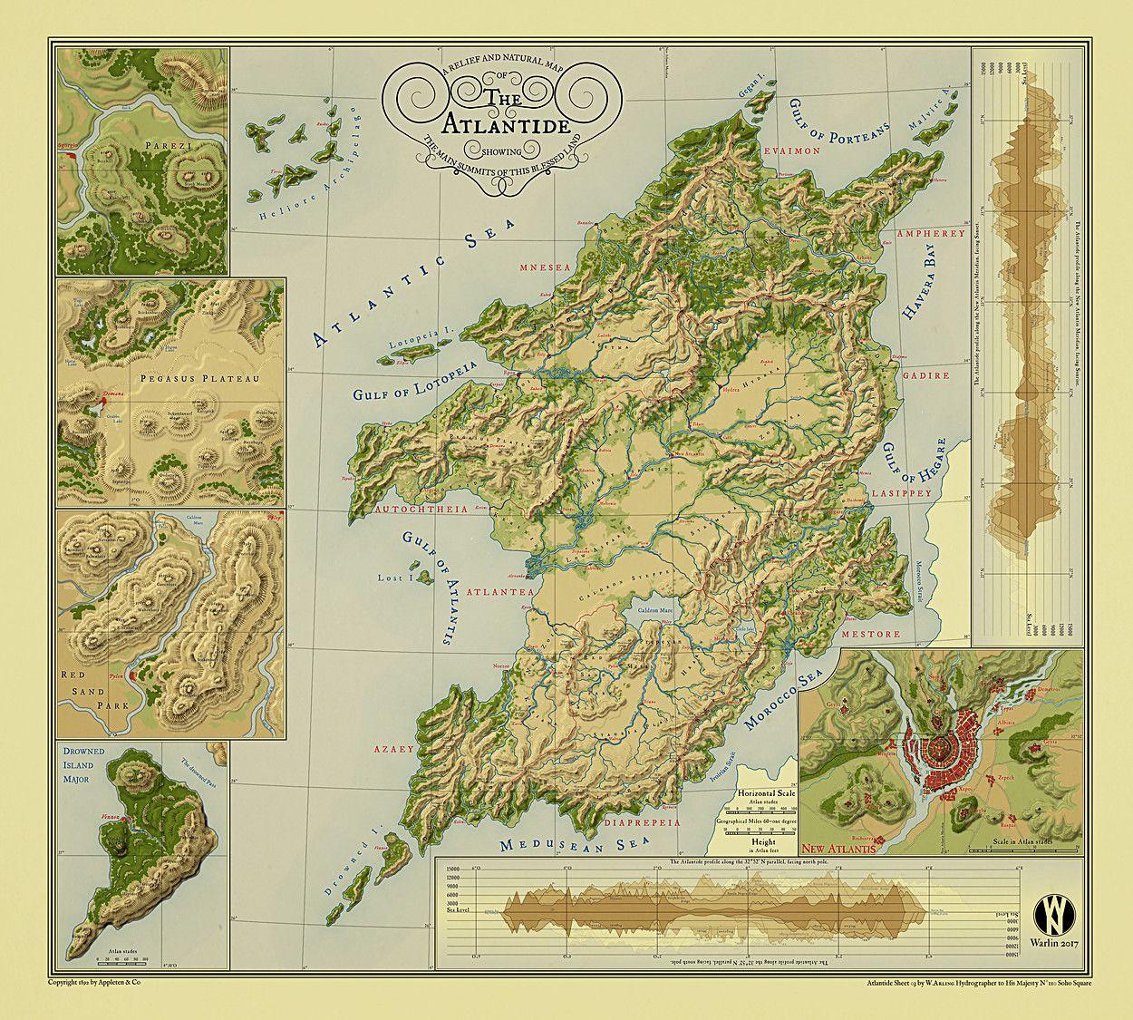 Cartographers' Guild - The Atlas Awards Winners 2018 | Maps