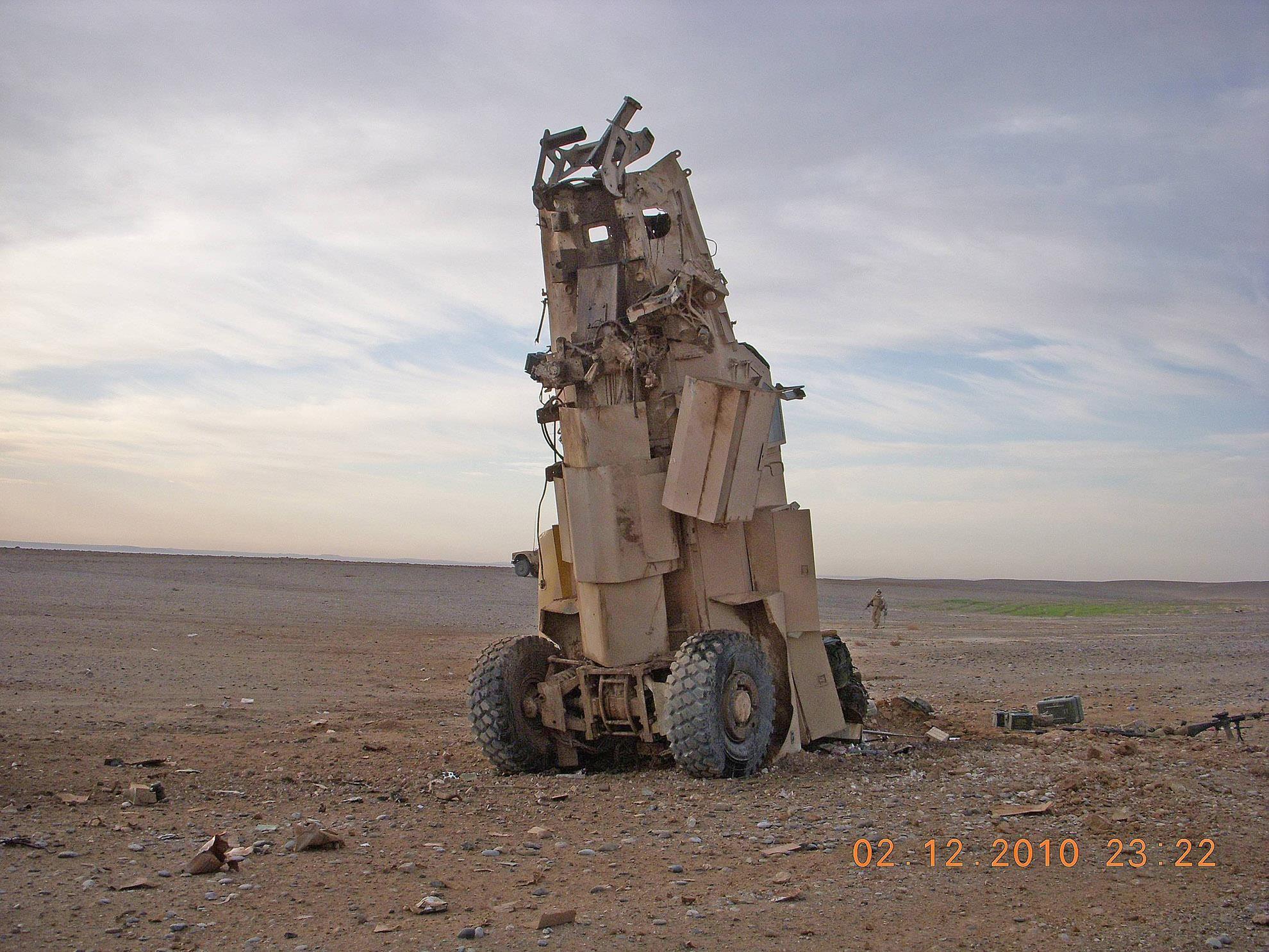 U.s Marine Memes #MRAP #destroyed by #I...