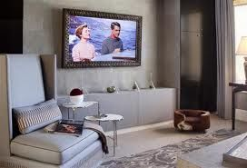 tv in picture frame