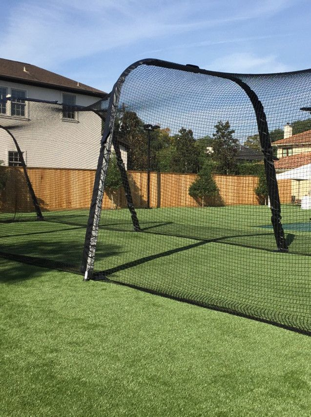 Backyard Batting Cage Kit 2021 in 2020 | Batting cage ...
