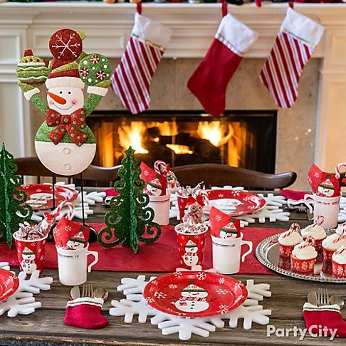 A Flurry Of Friendly Christmas Decorating Ideas Party