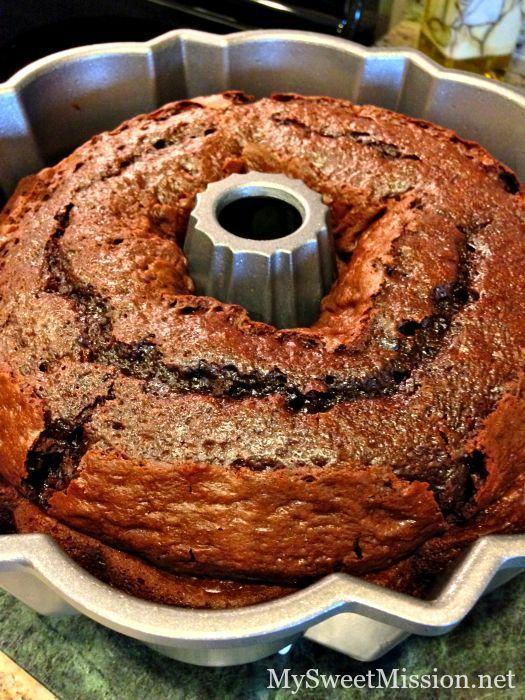 Triple Chocolate Sour Cream Bundt Cake Chocolatecake Our Triple Chocolate Sour Cream Bundt Cake Is Decadently Rich Super M Savoury Cake Desserts Cake Recipes