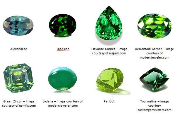 Green gems alternatives to emeralds also jeweler   digest esmeralda rh pinterest