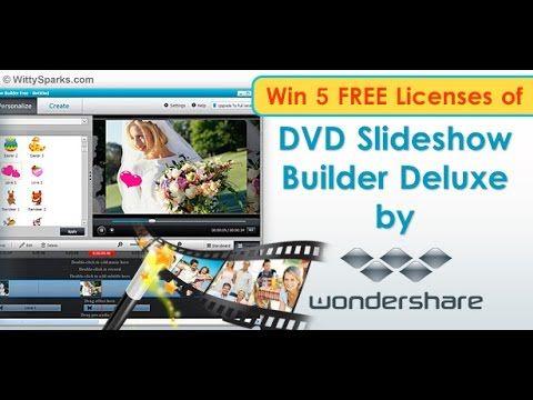 wondershare dvd slideshow builder deluxe registration key