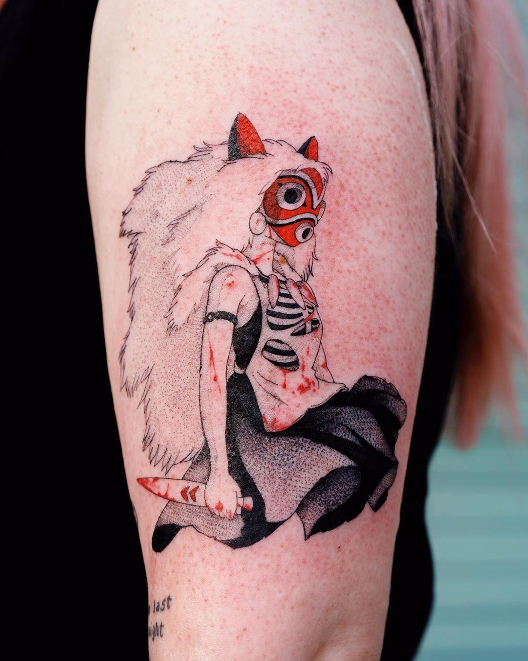 Tattoo Artist Oozy South Korean Tattoo Artist Oozy Tattoo Artwoonz Tattoo Artists Korean Tattoo Artist Ghibli Tattoo