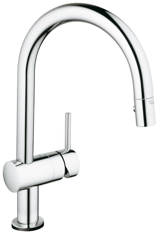 Mitigeur Cuisine Avec Tte Grohe   View The Grohe 31 378 Minta Pull Down High Arc Kitchen Faucet With 2