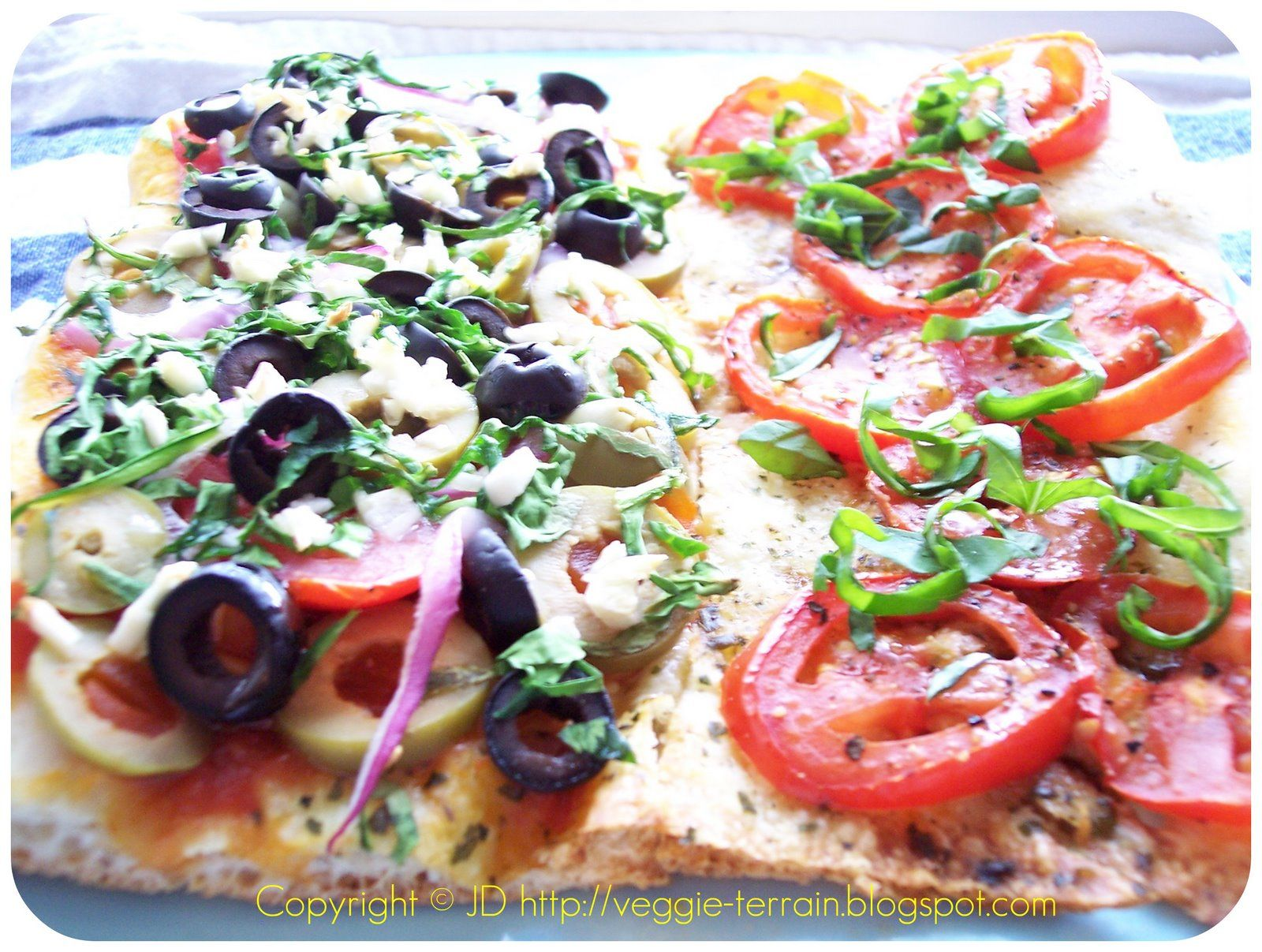 Cheese-Less Flatbread Pizzas: They're Re-Vegan-Diculous!