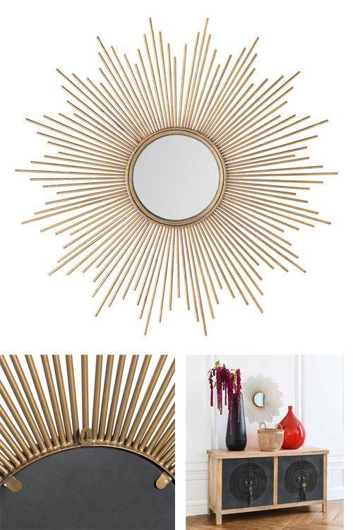 specchio convesso! e ferro Specchi, Mobili e Oggetti