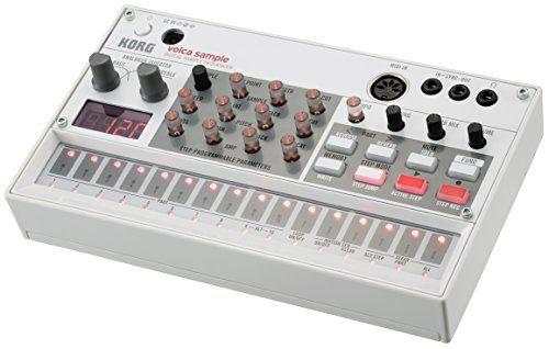 Korg VOLCASAMPLE Sample Playback Rhythm Machine  http://www.instrumentssale.com/korg-volcasample-sample-playback-rhythm-machine/