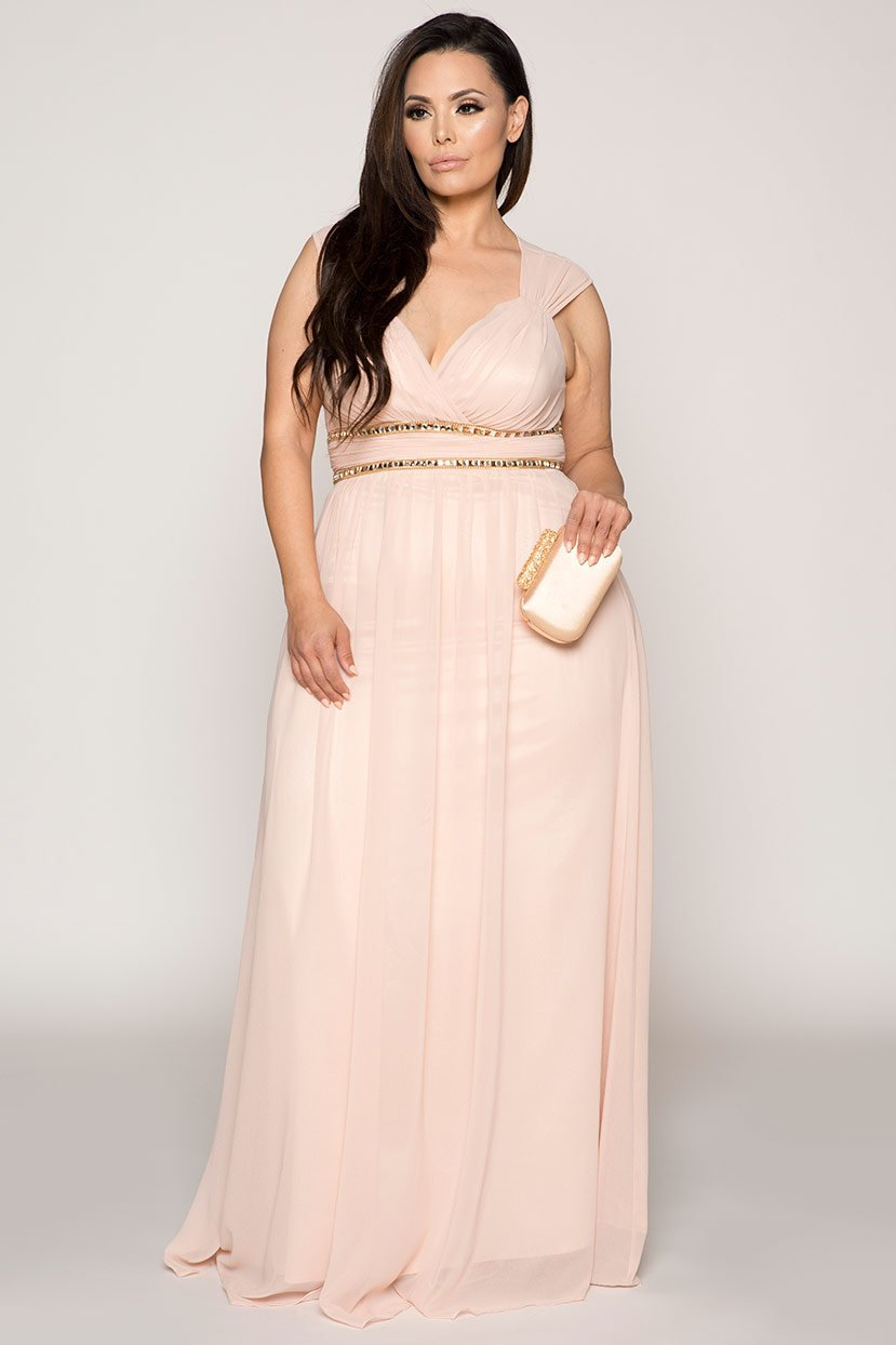 Pastel Bridesmaid Wedding Prom Celebration Gown Dress in