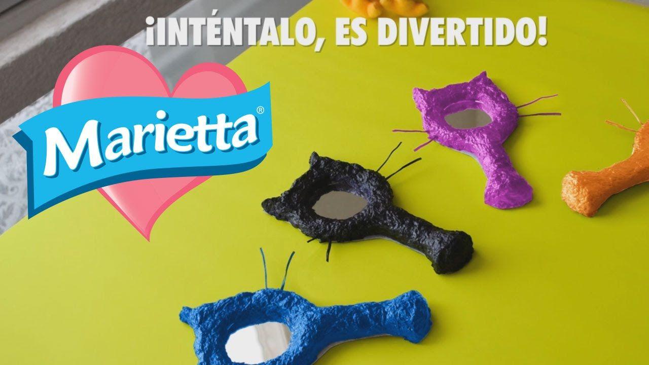 Hazlo tú misma con Marietta | Espejo Gatito