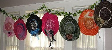 Hat Decorating Ideas Turn A Plain Straw Hat Into A Beautiful