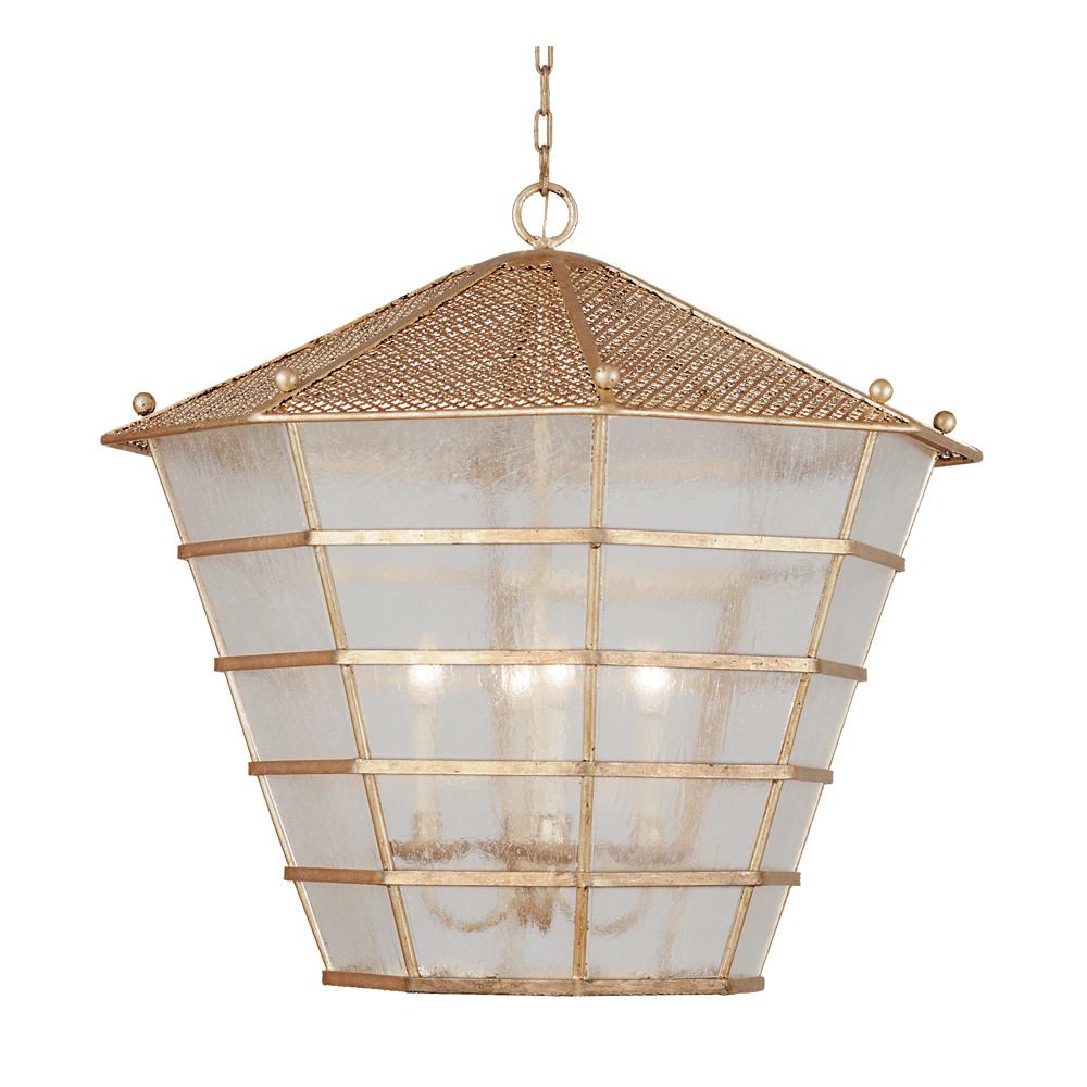 Mandarina 8034 4 light lantern in gold metal leaf shades of gold mandarina 8034 4 light lantern in gold metal leaf chandelier arubaitofo Images