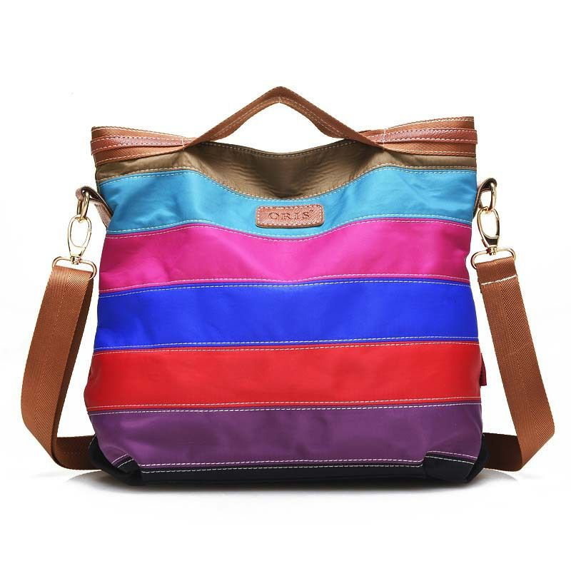 Phedera New Female Totes Bags Waterproof Nylon Women Messenger Bags Fashion Patchwork Women Handbags Women Hand Bags