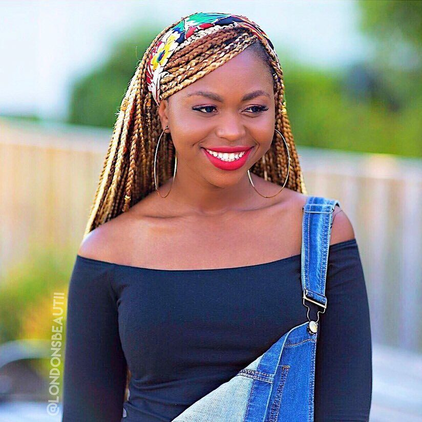 Eva Marcille Inspired Braids done by by London's Beautii