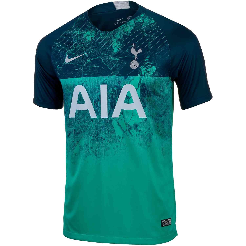 2018 19 Kids Nike Tottenham 3rd Jersey Olahraga