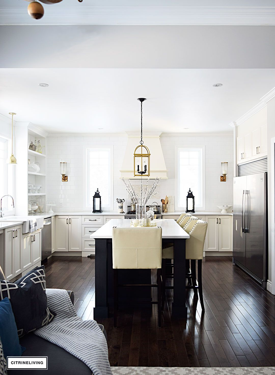 change accessories to change your look kitchens without upper cabinets upper cabinets open on farmhouse kitchen no upper cabinets id=31047