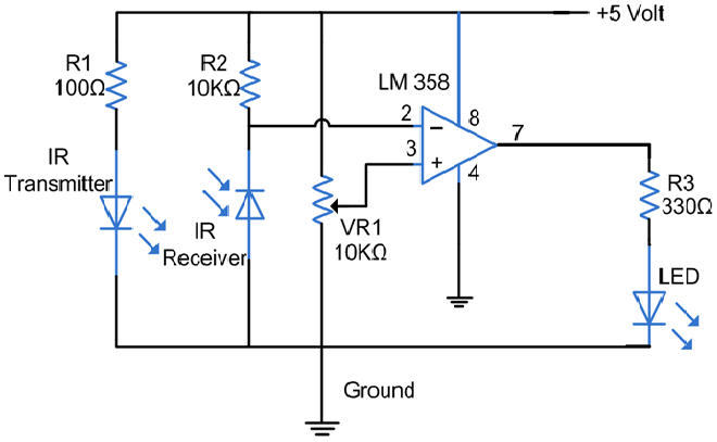InfraredSensorCircuit is an #ElectronicSensor that