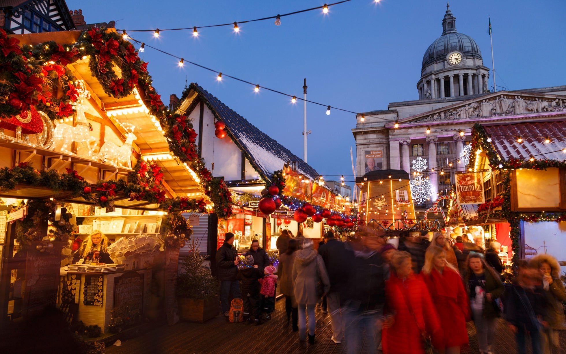 Nottingham Xmas Market 2019 Best christmas markets