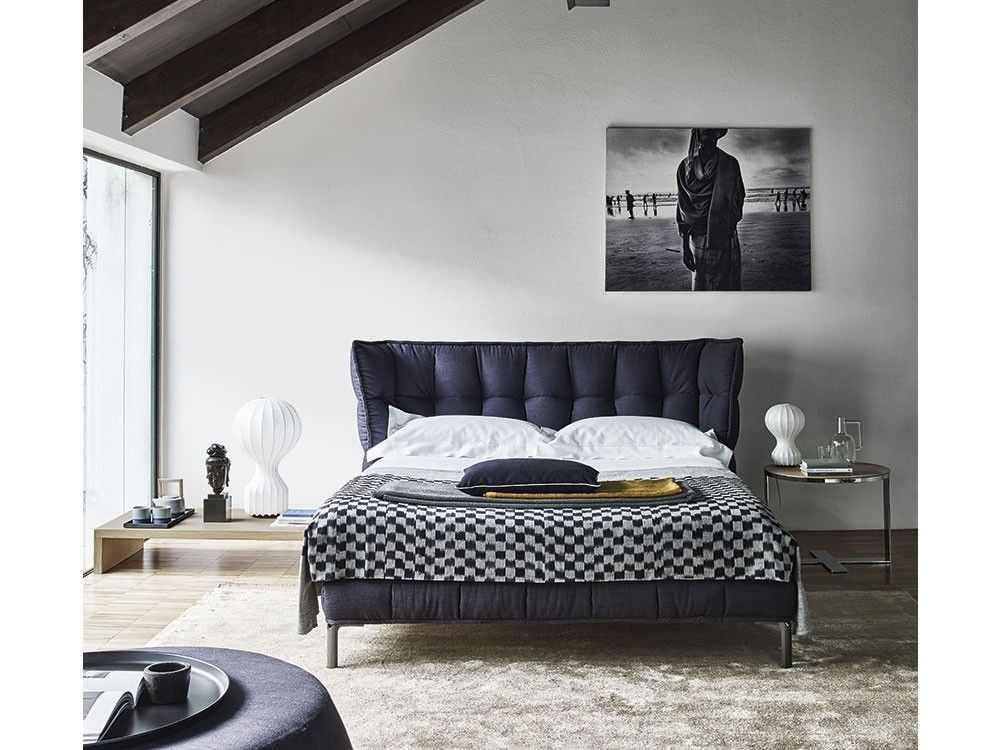 Husk bed in 2019 b b italia patricia urquiola bedroom for B and b italia beds