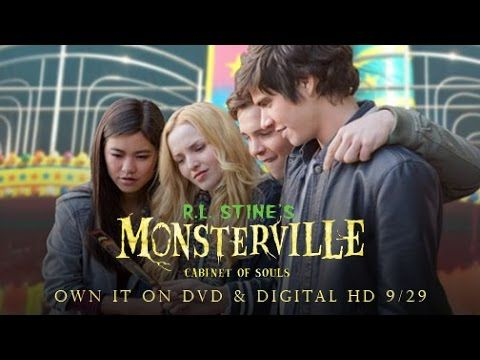 TALK OF THE TOWN By Orikinla: Universal Pictures Home Entertainment Presents R.L. Stine's Monsterville: Cabinet of Souls