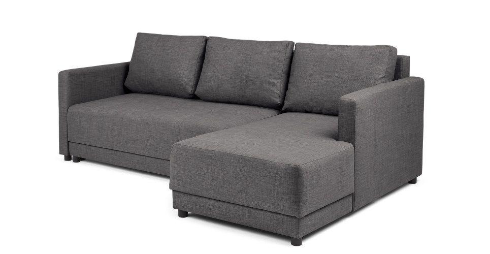 Remarkable Brock Platform Sofa Bed Pewter Grey Daybeds Sofa Bed Uwap Interior Chair Design Uwaporg