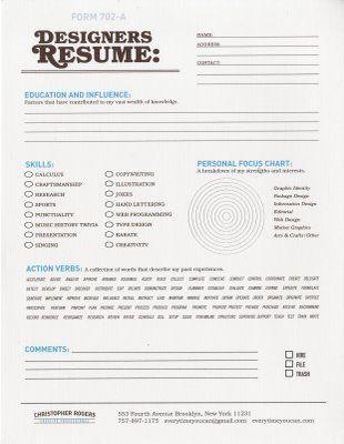 Designer Resume I love design Pinterest Graphic designers - ui designer resume