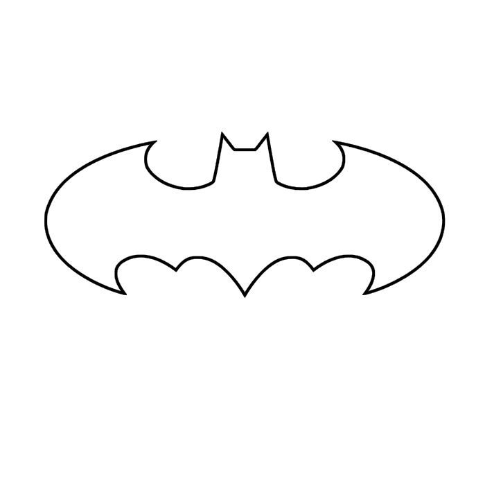 Stencils Templates Batman Birthday Stencil Template Batman