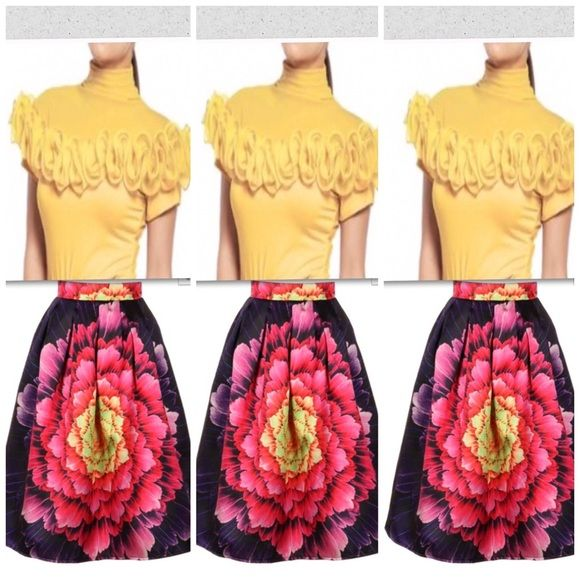 Getting for the spring Coming Soon sizes will be sm-lg!! U can pre-order to reserve ur new look... This will be a set.. Gracia Tops Blouses