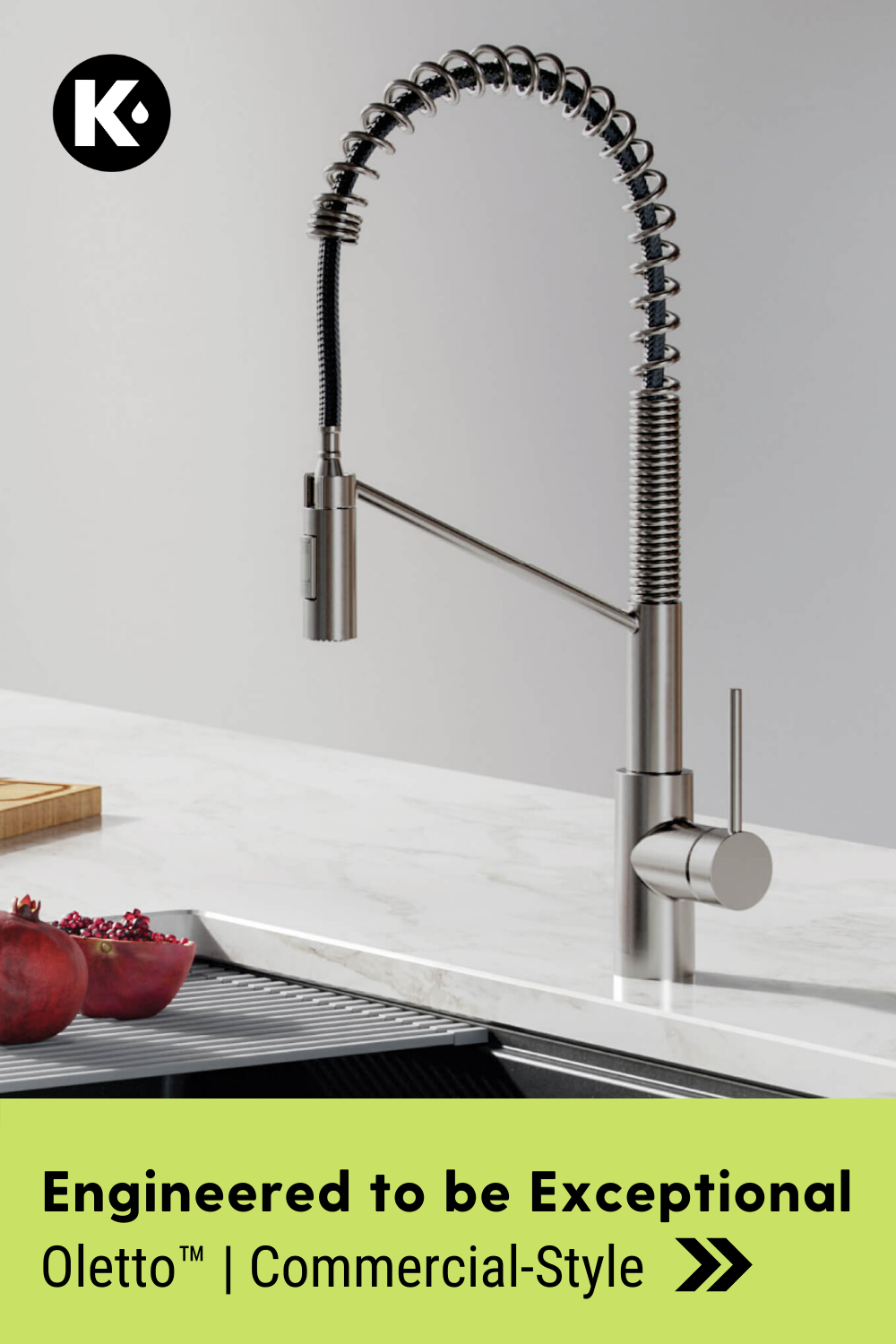 Oletto™️ CommercialStyle Faucet in 2020 Commercial