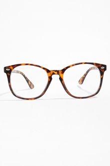 5cf350744ecc Sam Rounded Clear Glasses - Tortoise non-prescription clear glasses, non-prescription  eyeglasses, clear glasses, clear eyeglasses, fake glasses, ...