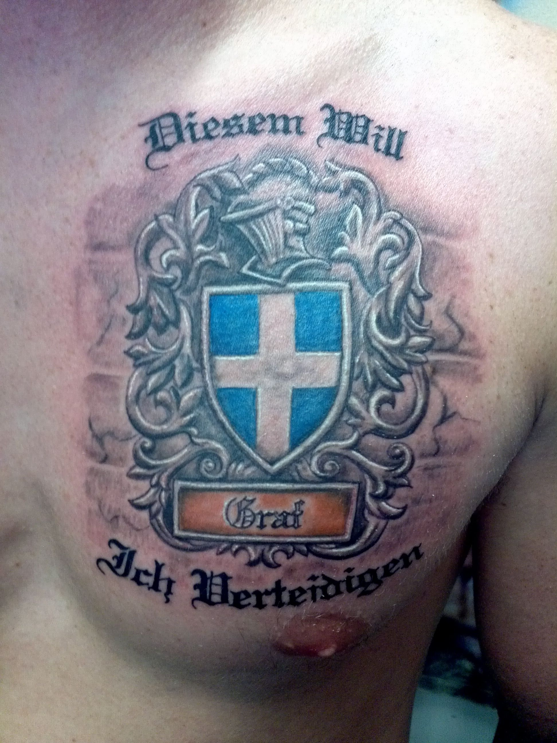 20+ Family Crest Tatto Pictures and Ideas on Weric