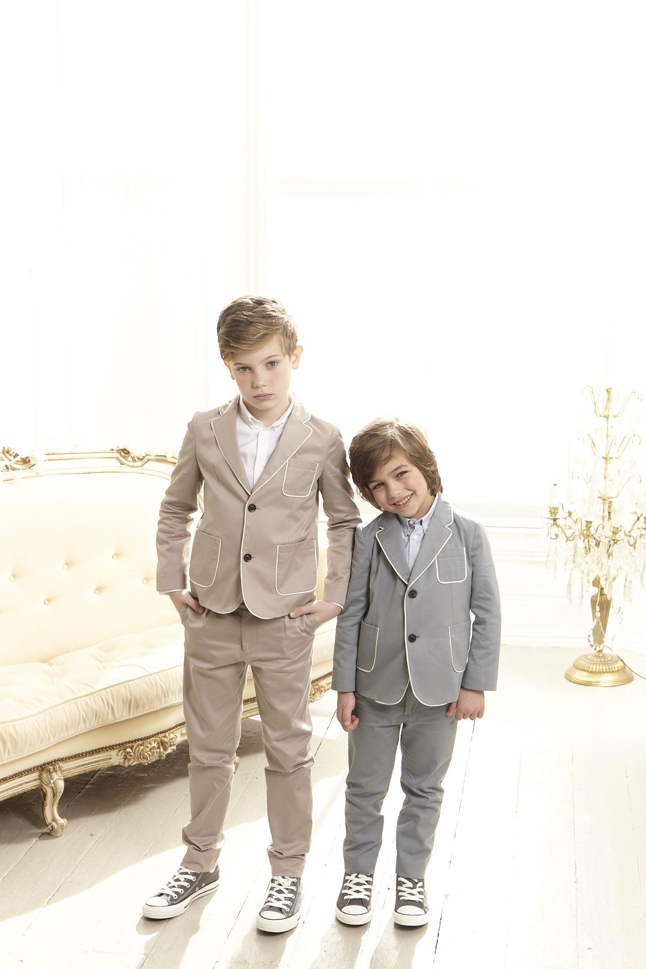 Toddler boy dress clothes for wedding  MarieChantal SS tailored jackets suits party  Lil Kid