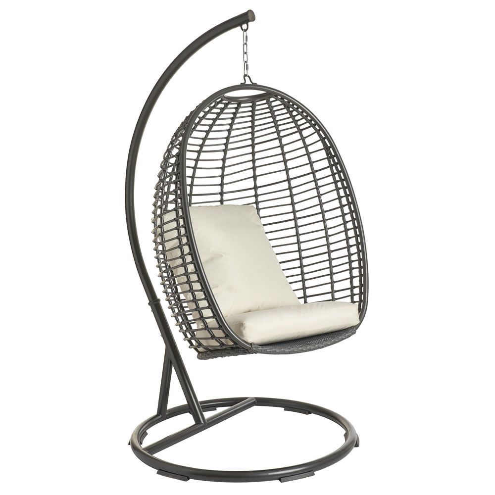 Wilko Egg Swing Chair Swinging Chair Hanging Egg Chair