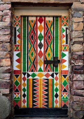 A Jurubeba Cultural: ● Uma visão de Arte... Uma porta.