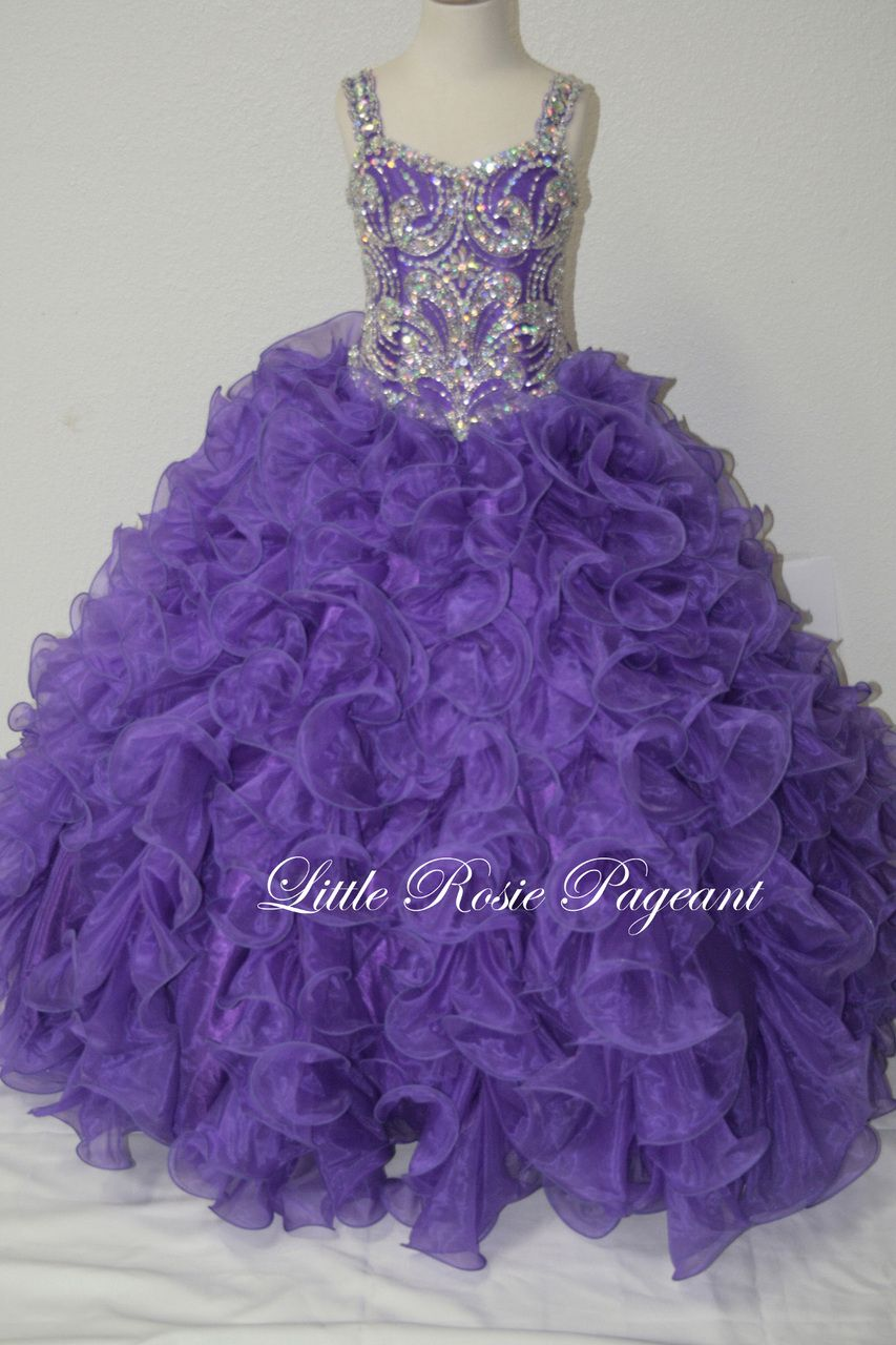 09f6b7a2c3d8 Blush Kids Inc. - Little Rosie LR2026 | Glitz Pageant Gown | Pageant Gown  For