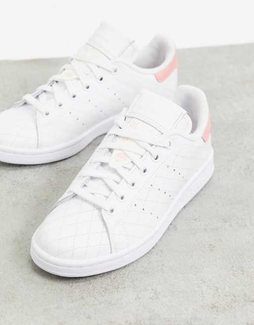 Air Force 1 07 Lx Baskets Basses Adidas Originals Stan Smith Trainers In White And Pink Asos In 2020 Stan Smith Trainers Adidas Originals Stan Smith Stan Smith