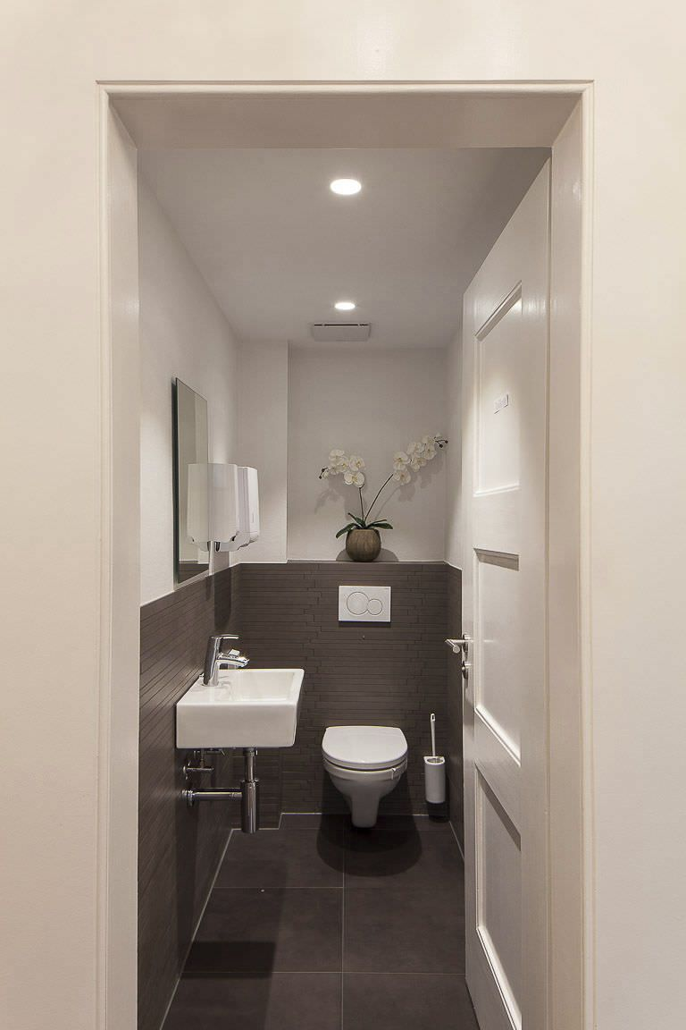 Front Door Paint Colors Want A Quick Makeover Paint Your Front Door A Different Color Here S Some Inspira Toilet Design Small Toilet Room Bathroom Interior