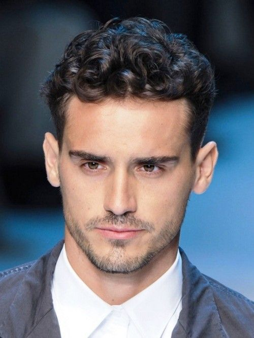 New Short Curly Hairstyle For Man 2015 Hairstyle
