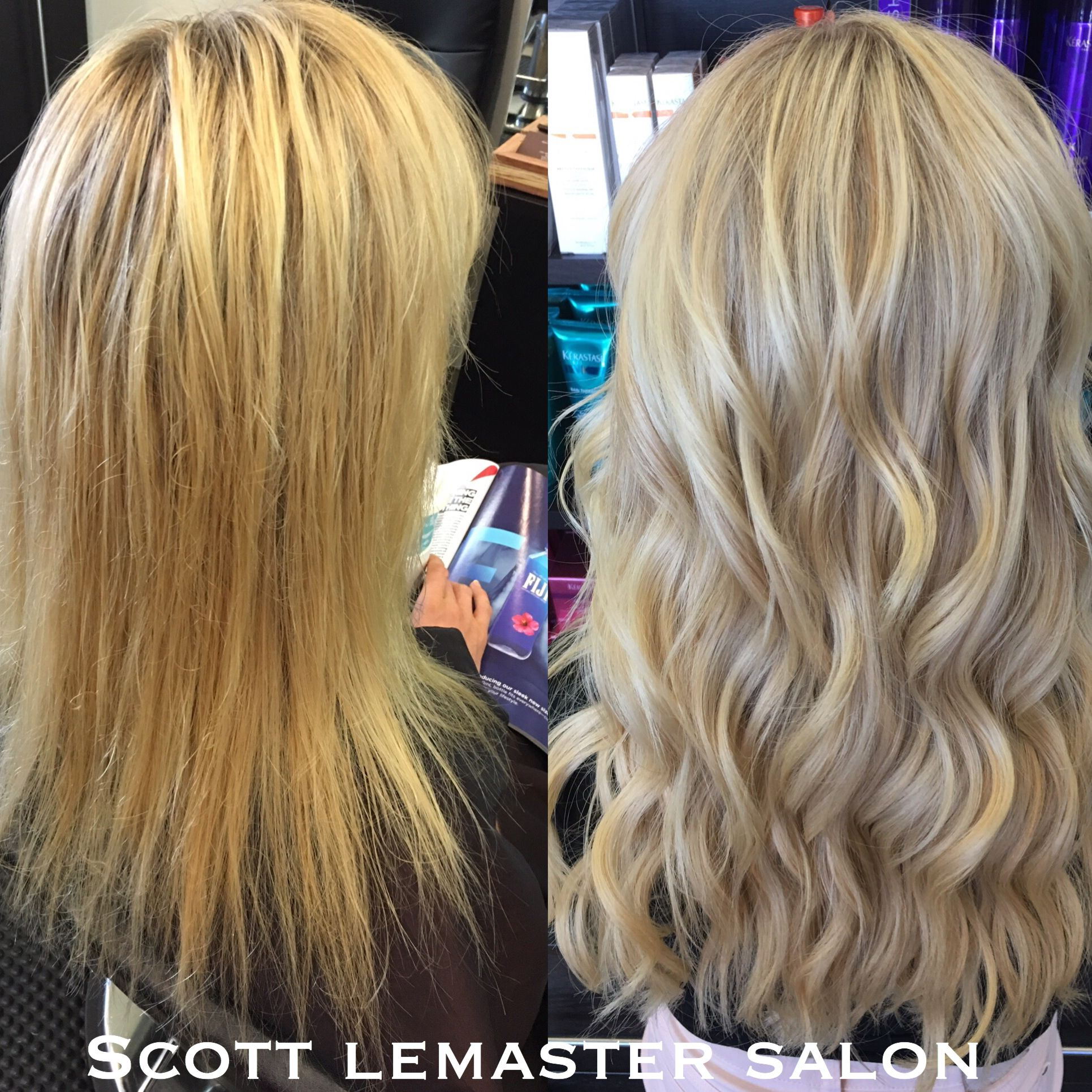 Before And After Cinderella Hair Extensions This Cut Color And
