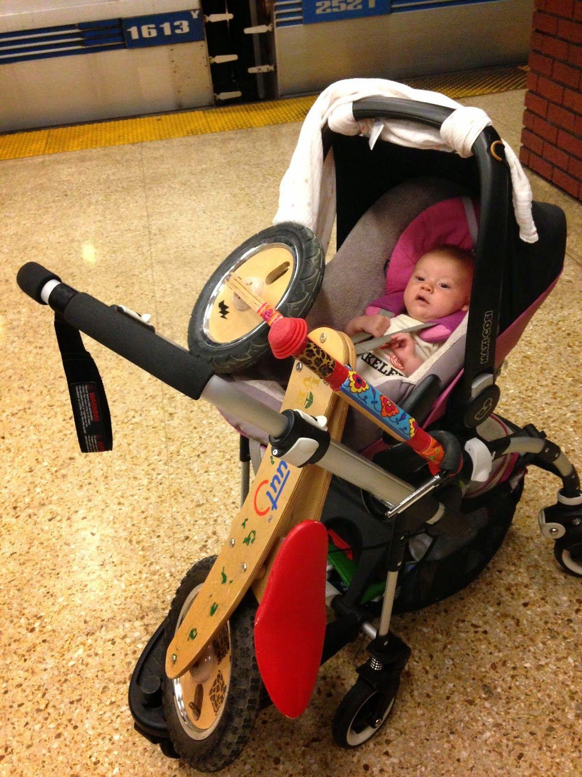Bike & stroller combo! Baby car seats, Stroller, Baby