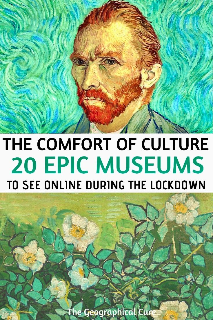 Virtual Museum Tours If You're Stuck At Home on Lo