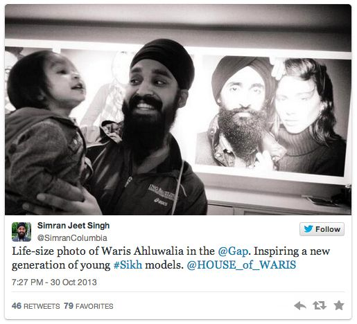 The campaign received a lot of positive attention for its attention to diversity, from Sikhs and non-Sikhs alike.